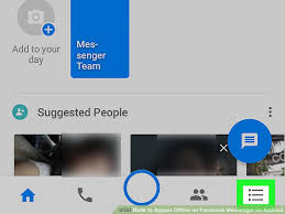 offline app android how to appear offline on messenger on android 4 steps
