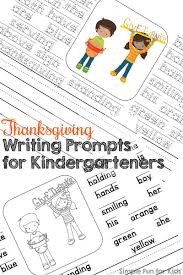 thanksgiving writing prompts for kindergarteners simple for