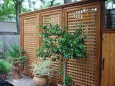 Backyard Privacy Screens by Screening Fence In 23 Garden Ideas On How To Preserve Privacy