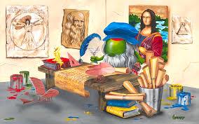Da Vinci Michael Godard