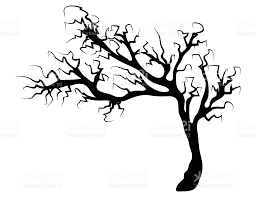 best 15 halloween creepy scary bare tree vector symbol icon design