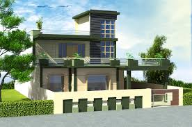 Home Design 3d Online Xterior Modern Brick Paint House Design With Yard Plan Ed Wall