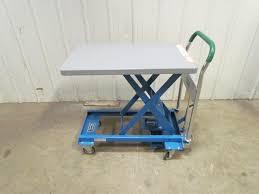 dandy lift l 250 hydraulic scissor lift cart table 550lb load