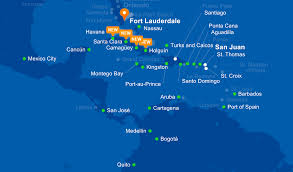 Jet Blue Route Map Fort Lauderdale Is A Hub For Three Airlines You Should Consider