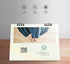 Desk Calendar Design Ideas 21 Best Calendar Templates For 2016 Web U0026 Graphic Design Bashooka