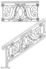 escalera escaleras railing design iron railings