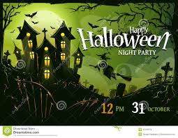 halloween poster design stock vector image 45190579