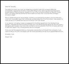 resignation letter format best involuntary resignation letter due