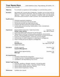 Sle Resume Electrical Worker warehouse supervisor resume coordinator electrical description