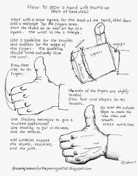 How To Make Worksheets How To Draw Worksheets For The Young Artist How To Draw A Hand