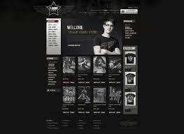 t shirt store opencart template 43628