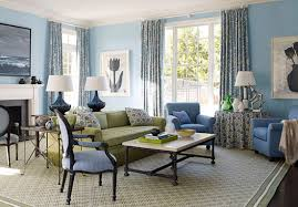 great blue colour schemes for living rooms in home decoration