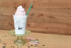 birthday cake drink starbucks unveils new frappuccino for drink u0027s 20th birthday fortune
