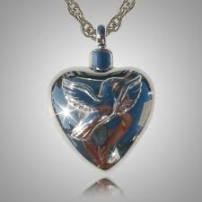 cremation jewelry heart keepsakes memorial cremation ash jewelry pendants