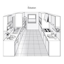 plan cuisine en u plan cuisine en parallele en u choosewell co