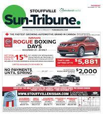 nissan canada end of lease stouffville sun december 22 2016 by stouffville sun tribune issuu