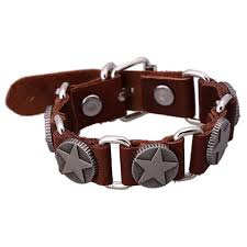 leather star bracelet images Buy sh s60001 3 leather bracelets new arrive trendy star bracelets jpg