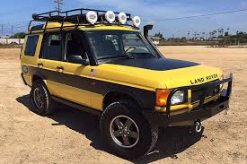 land rover yellow kalahari edition an u002702 land rover that begs for adventure