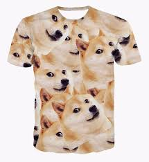 Funniest Doge Meme - funny doge meme shiba inu japan hunt dog 3d big version t shirt