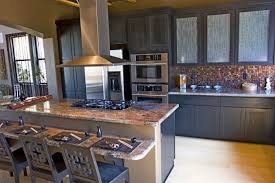 kitchen room awesome island stove top with 4 chair and modern