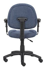 Office Furniture Chairs Amazon Com Boss Office Products B316 Be Perfect Posture Delux