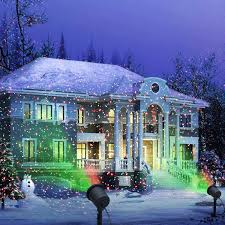 amazing ideas outdoor projector christmas lights green projection