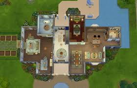 Mansion Blue Prints by Modern House Plans Sims 4 Arts