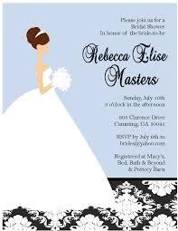 dress invitations bridal shower invitations bridal shower invitations free