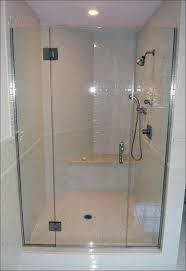 bathrooms tempered glass shower doors how to remove hard water