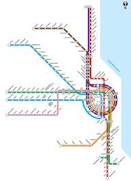 Cta Map Chicago Nathan Phillips