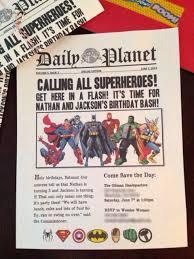 superhero birthday invitation templates ideas templates birthday