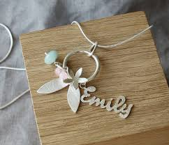silver jewellery name necklace images Handmade silver personalised name necklace by caroline cowen jpg