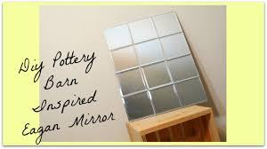 Pottery Barn Beveled Mirror Diy Eagan Mirror Pottery Barn Inspired Youtube