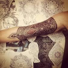 40 perfect mandala tattoo designs henna style brighton uk and