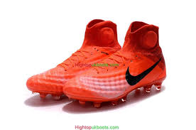 buy soccer boots malaysia nike magista obra ii fg football boots orange black white