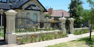 fence beautiful garden fence metal backyard privacy screens