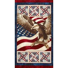 stars and stripes home decor stonehenge stars stripes eagle 24 panel multi discount designer