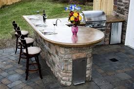 outdoor kitchen countertop ideas innovative ideas outdoor countertop picturesque outdoor kitchen