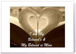 i am my beloved i am my beloved s and my beloved is mine greeting card by sima