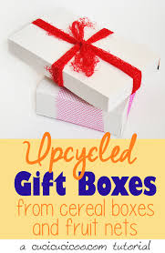 bows for gift boxes cereal box gift boxes with produce net bag bows cucicucicoo