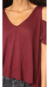 free people bittersweet tee wine women clothing tops free people