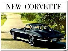 corvette dealers buy a colorful 1963 chevrolet corvette dealers sales brochure