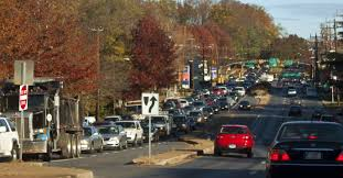 pre thanksgiving traffic slowdowns reached their worst point tuesday