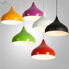Diy Hanging Light Fixtures Jw Modern Colorful Aluminium Pendant Light Diy Hanging L Shade