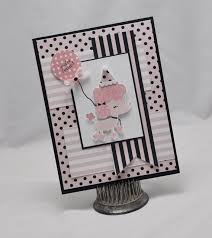 Invitation Cards Handmade - handmade poodle birthday invitation card baby shower by