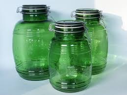 green kitchen canister set glass kitchen canisters airtight airtight glass canisters