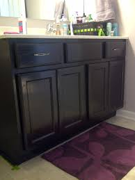 Oak Bathroom Vanity Cabinets by Misadventures In Diy Bathroom Vanity Oakness Makeover For The