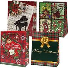 large christmas gift bags 12 jumbo large christmas gift bags bulk