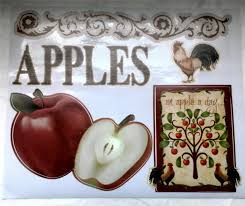 Country Apple Decorations For Kitchen - rooster country decor home design ideas essentials