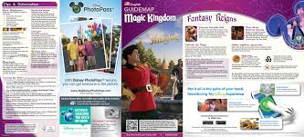 Disney World Interactive Map by 2014 Walt Disney World Park Maps With Fastpass Photo 8 Of 8